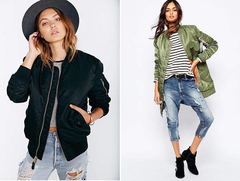 Alpha Jacket // Urban Outfitters, ASOS