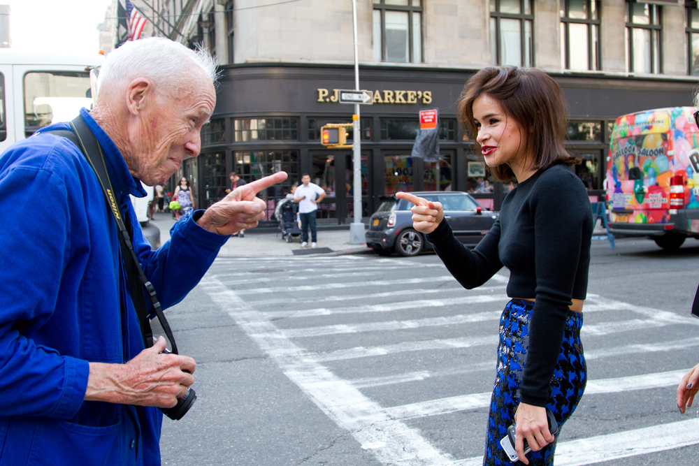Bill Cunningham // Pinterest
