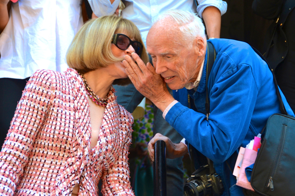 Bill Cunningham y Anna Wintour // What we like NYC