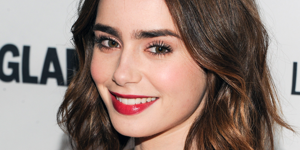 Lily Collins // Huffington Post