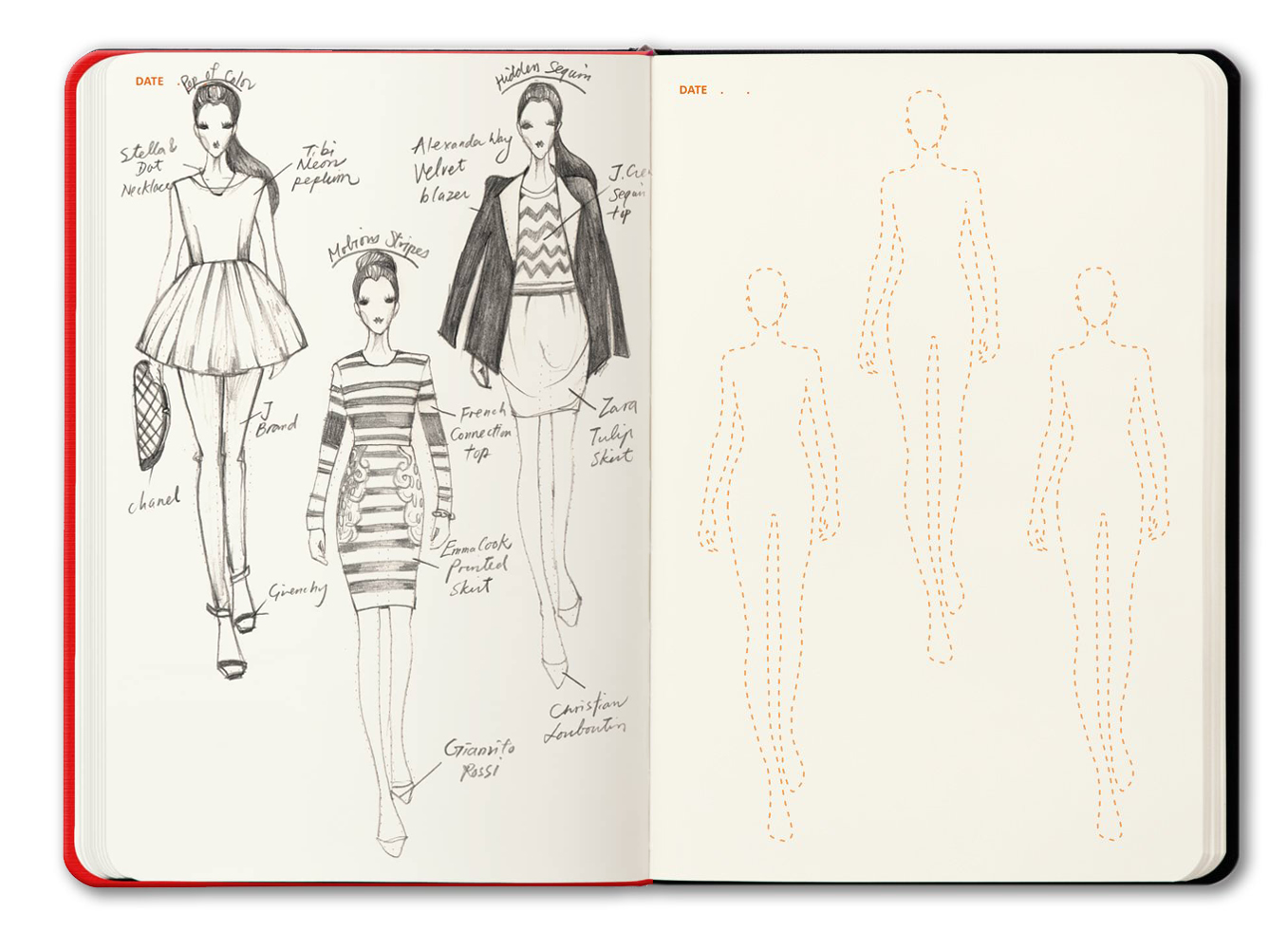 template-sketches-fashionary-amazon