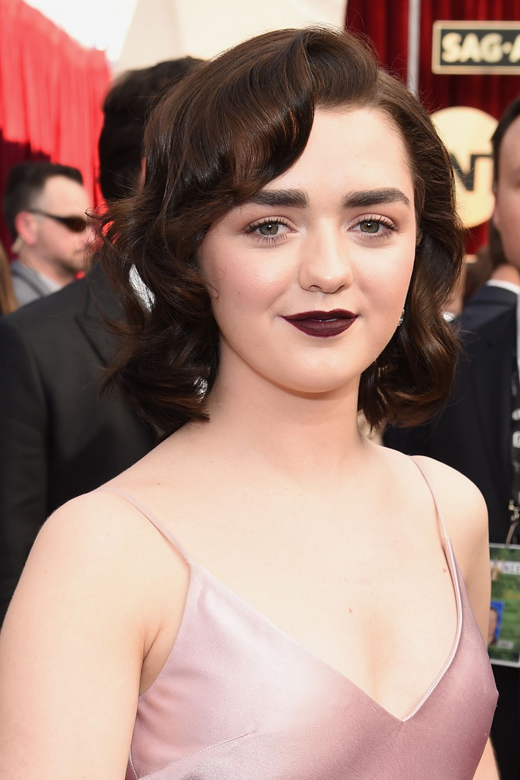 Maisie Williams. Foto: Refinery 29.