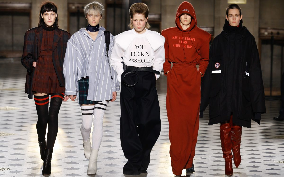Vetements Invierno 2016.