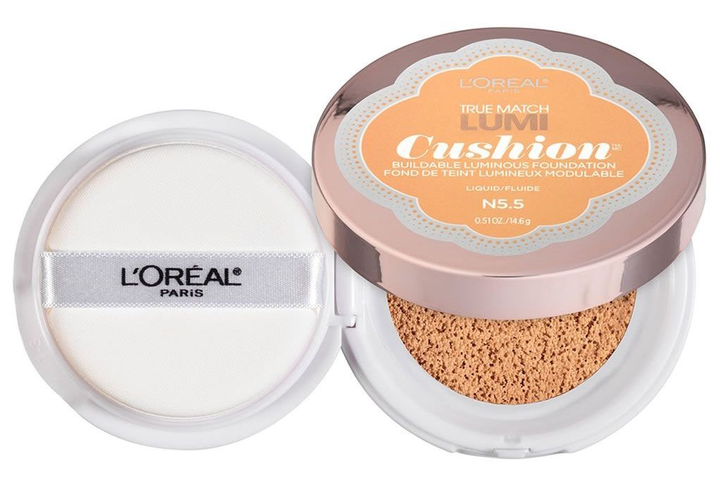 Base Lumi Cushion de L'Oréal.