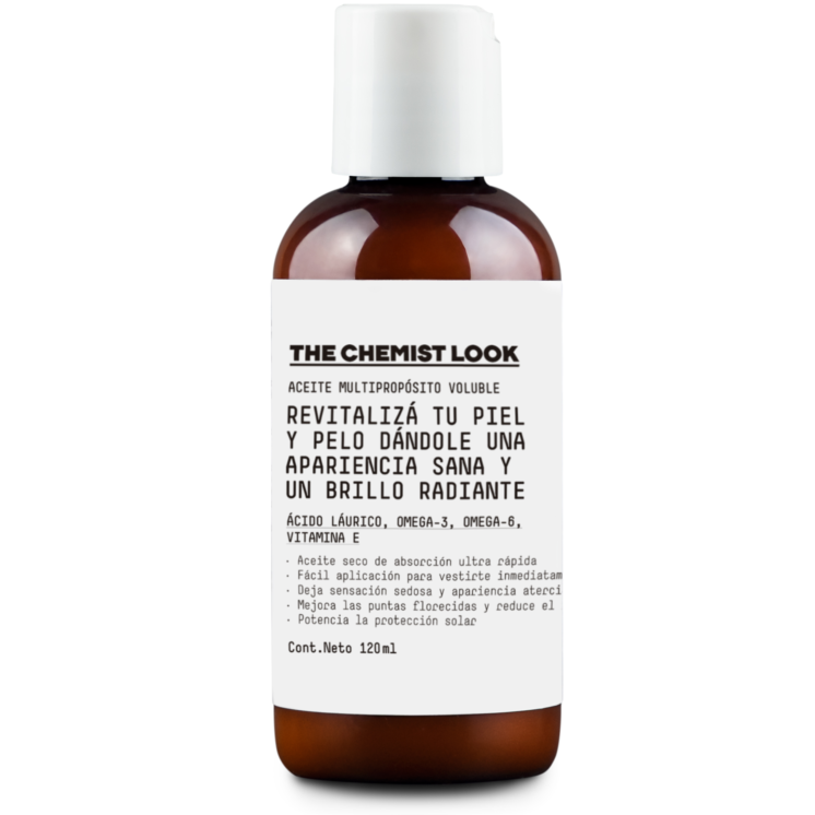 Aceite corporal multipropósito The Chemist Look $1.980