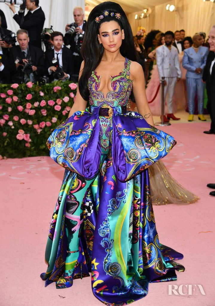 dua lipa mirada couture met gala camp fashionbreak