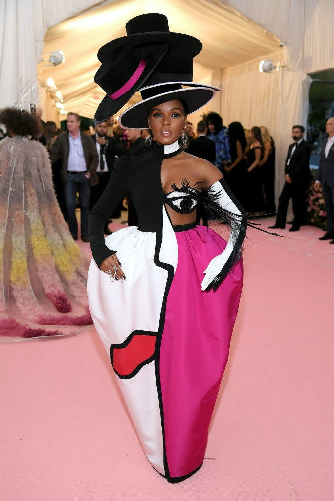 mirada couture met camp notes on fashion fashionbreak janelle monaé